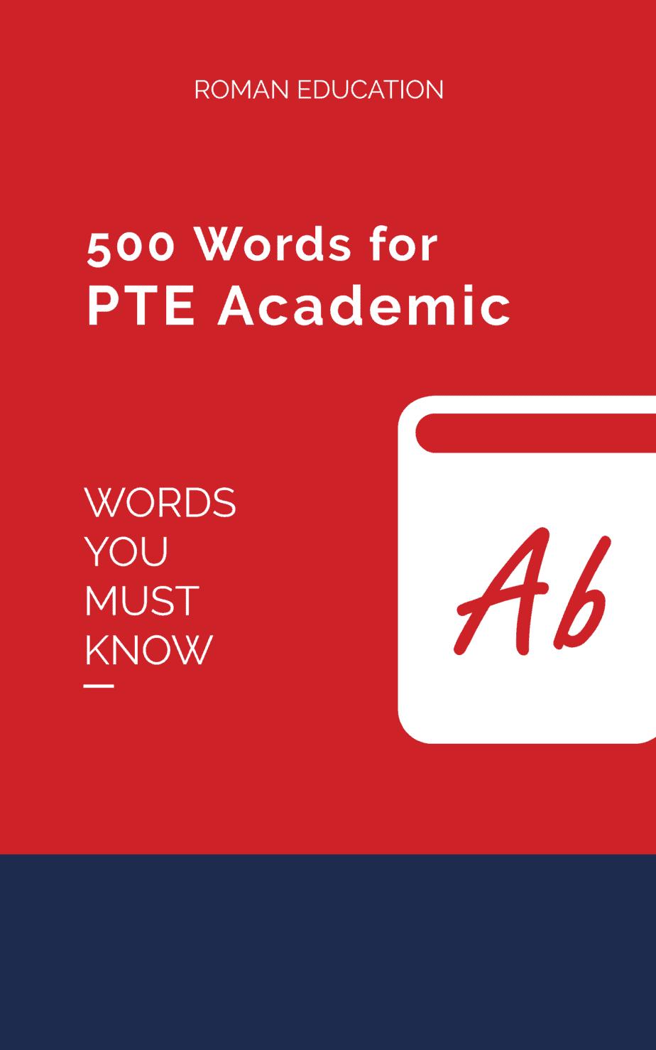 PTE vocabulary