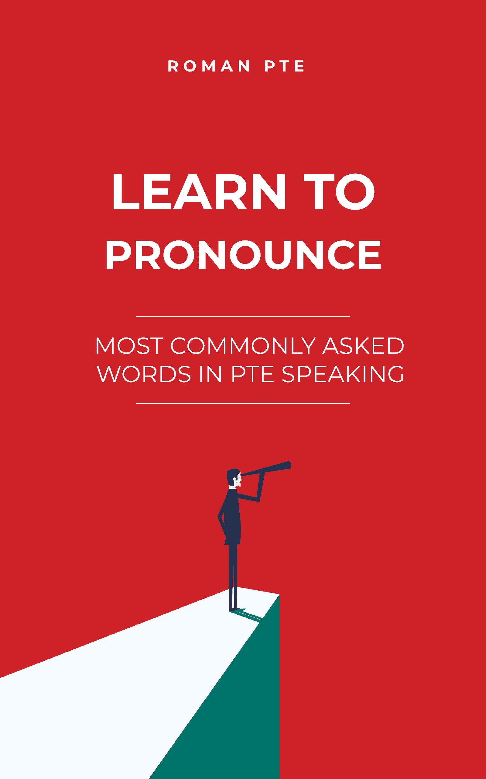 PTE pronunciation handbook