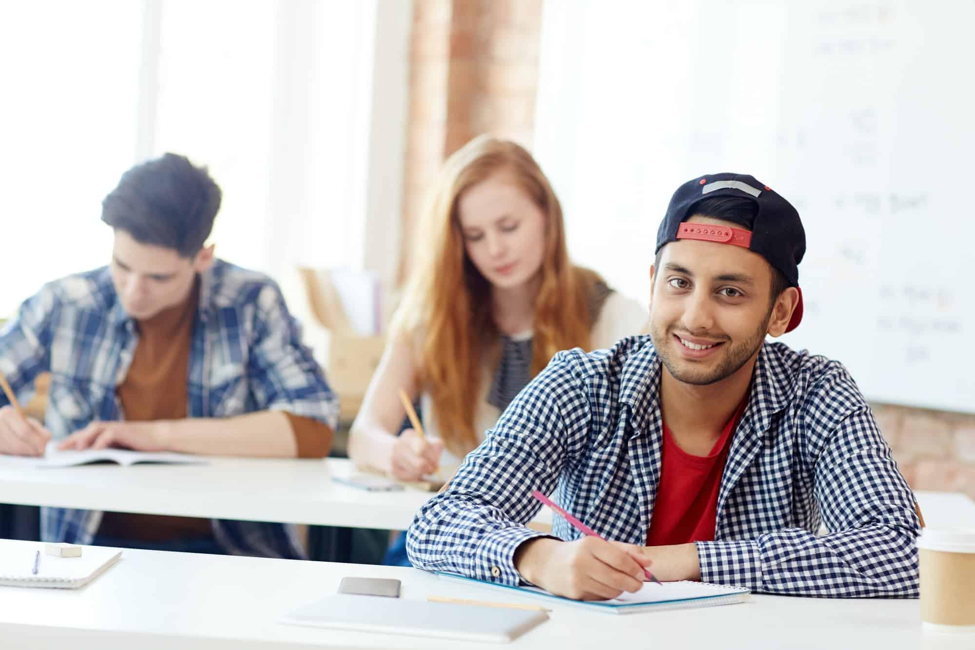 Exam in college
