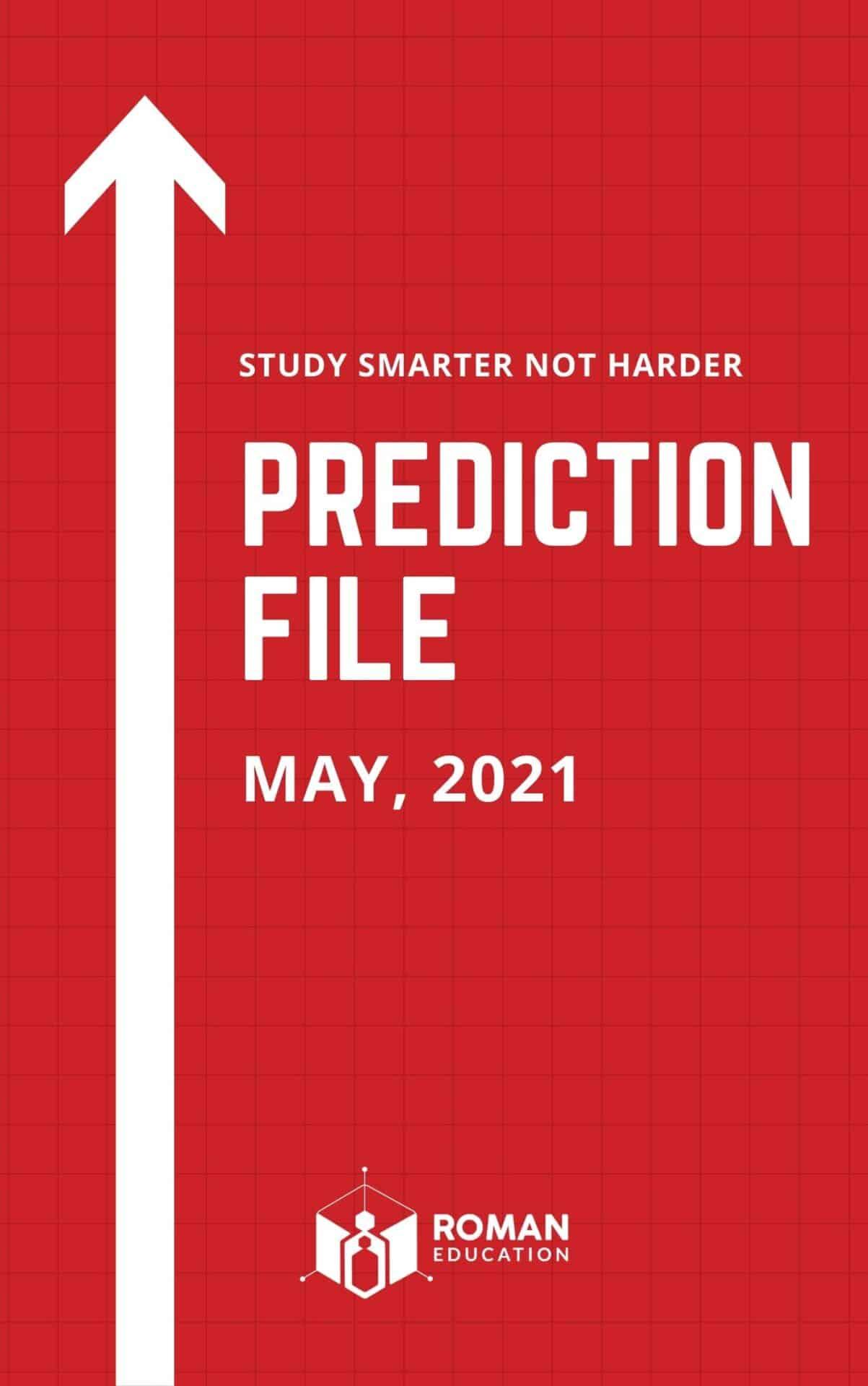 Prediction file May